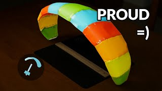 Building self Designed Paraglider - Making a Paraglider Part 4 - BANDARRA