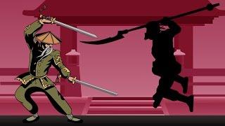 ОТШЕЛЬНИК ПОВЕРЖЕН идем на МЯСНИКА мультик игра для детей Shadow Fight 2 бой с тенью