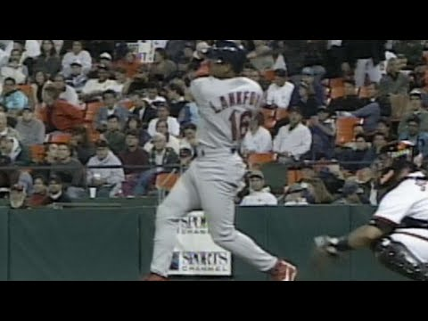 Ray Lankford hits his 27th home run of 1997