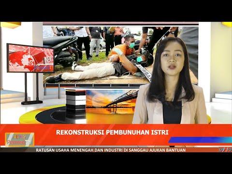 Rekonstruksi Pembunuhan di Singkawang, Tersangka Peragakan 15 Adegan Saat Bunuh Istrinya