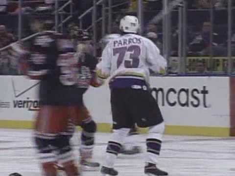 George Parros vs Trevor Gillies