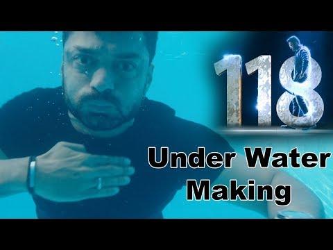Under Water Making Scene From 118 Movie
