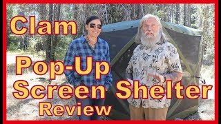 REVIEW: Living OUT of your van in a Clam Pop-Up Shelter