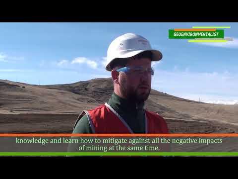 Jobs in Mining - Geo-Environmentalist Taron Navasardyan