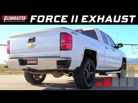 2011-18 Chevrolet/GMC 1500 6.2L - Force II Cat-back Exhaust System 817603
