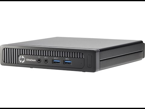 HP EliteDesk 800 G1 Ultra-slim mini PC How to Memory Upgrade and mini review