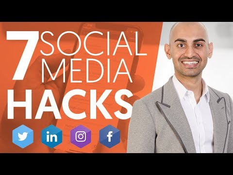 , title : '7 Social Media Hacks That'll Make Your Business Grow Faster   Neil Patel