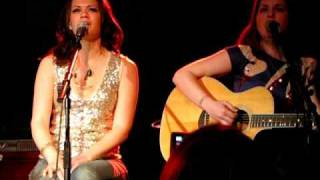 Home is Me You Are Mine by Bethany Joy and Amber Sweeney (Everly) at Tin Pan South 2009 - live
