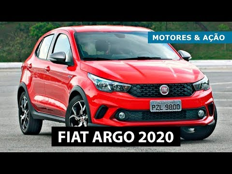 Fiat Argo 2020   Novos Preços   motoreseacao