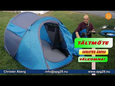 Tältmöte - Christer Åberg - live