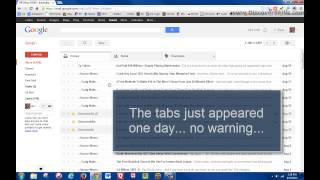 Gmail Changes - Inbox tabs and smaller compose window