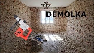 Demolka #2 Remont Starego Domu, Zrywanie Tynków