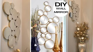 Elegant Wall Decor Using DOLLAR TREE Mirrors ~ D.I.Y. Home Decor