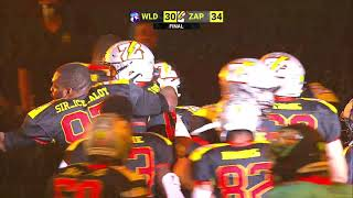 Zappers Win on 0 Second Hail Mary | FCF Week 3