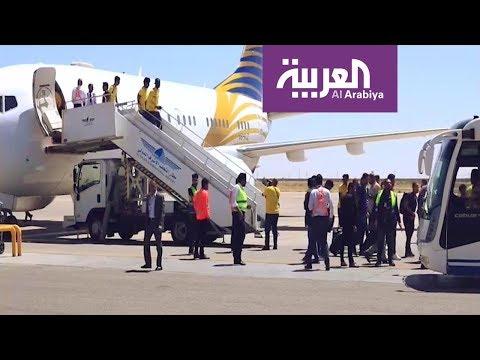 العرب اليوم - شاهد: استقبال مميَّز لبعثة النصر في النجف