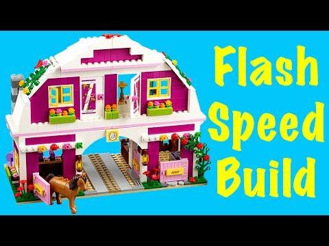 Vidéo LEGO Friends 41039 : Le ranch du soleil