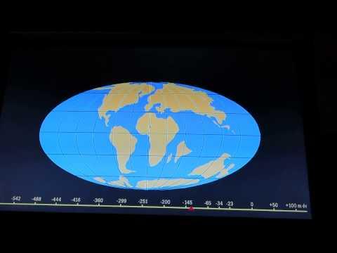 Видеореконструкция дрейфа континентов