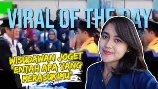 VIRAL HARI INI: VIDEO Konfirmasi Wisudawan Joget
