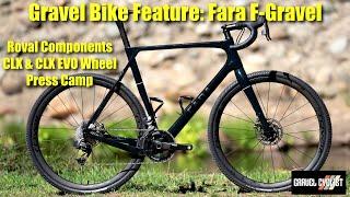Fara Cycling F-Gravel Carbon Gravel Bike: Nordic Minimalistic Design