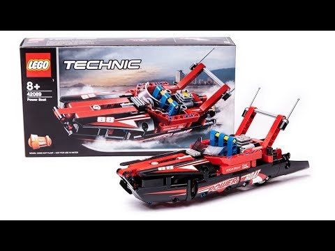 2019 LEGO Technic 42089 Power Boat set Quick Review