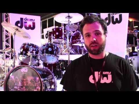 Novidades da DW® Drums  - EXPOMUSIC 2013