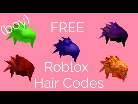 How To Get Free Boy Hair On Roblox
