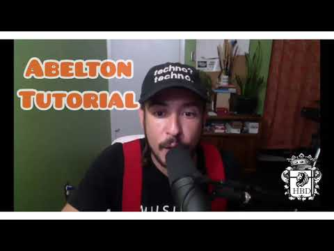 Learn Abelton and other music production programs today. Here is a brief tutorial on Abelton Live.