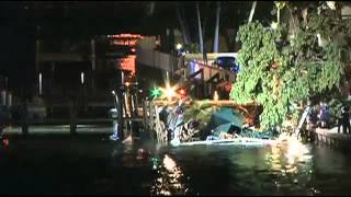 Florida Deck collapses at Shuckers Bar Restaurant during Miami Heat game 100 150 fell into water