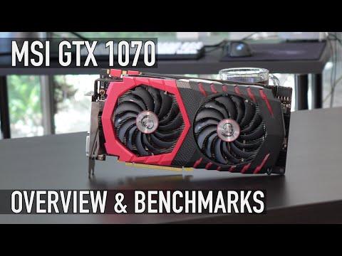 MSI GTX 1070 Gaming Z 8GB - Review & 4k Benchmarks