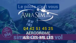 Campagne d'affichage Aviasim.  .