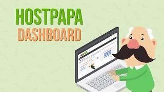 HostPapa Dashboard Overview