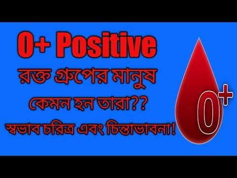 O Positive Blood Group Personality || O+ গ্রুপের মানুষ কেমন হয় || মানুষ চেনার উপায় ||