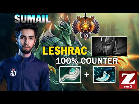 SUMAIL LESHRAC Mid With EUL'S SCEPTER and BLINK - 100% Counter PA DOTA 2