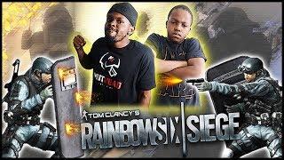 BROTHERS GO 1V1 IN RAINBOW 6 SIEGE!  - Rainbow Six Siege | (RB6 Siege 1v1)