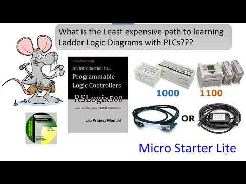 How to Program a PLC - Learning with RSLogix500 - YouTube
