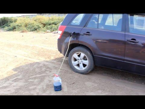 Die Norm des Benzins auf matis