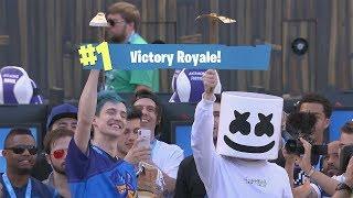 Fortnite - Marshmello & Ninja winning the $1,000,000 Fortnite Pro-Am