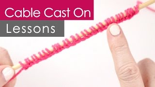How to Knit the Cable Cast On – Easy for Beginning Knitters