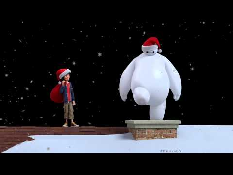 Big Hero 6 Viral Video 'Happy Holidays'