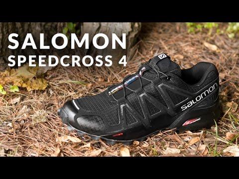 Salomon Speedcross 4 Women blackblackblack metallic