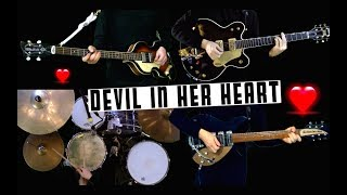 Devil in Her Heart - Instrumental Cover - Guitars, Bass and Drums