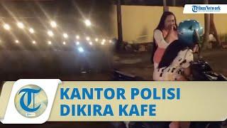 Viral Video, Mengira Kafe untuk Nongkrong, Dua Wanita Ini Ternyata Malah Kunjungi Kantor Polisi
