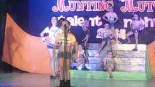 Munting Mutya Talent Night.