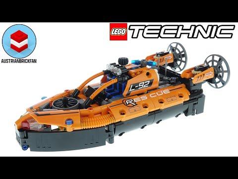 Vidéo LEGO Technic 42120 : Aéroglisseur de sauvetage