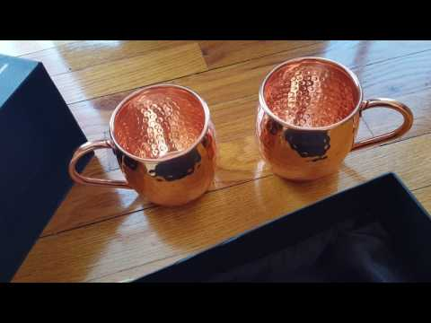 Moscow Mule mugs from Goody Goods