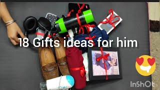 18 Gifts On 18th Birthday/18 Gifts For Him/Gift Ideas For Men/Gift Ideas For Boyfriend/Gift Ideas