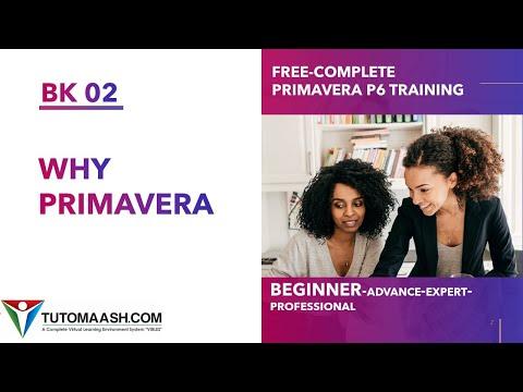 BK02- Why Primavera P6 Choosen in industries | Free Primavera p6 ...