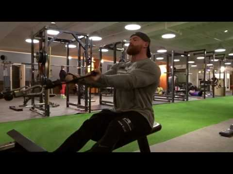 Seated Cable Curls | Gym Exercises | Peter Lagermand