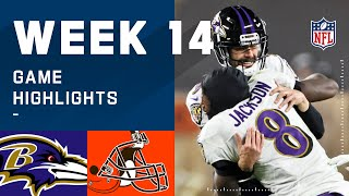 Ravens vs. Browns Week 14 Highlights | NFL 2020