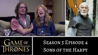 Game of Thrones S5E4 Sons of the Harpy REACTION